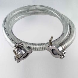 Vacuum Hose Assembly, 5' (1.5 m)